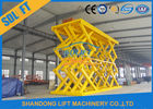 Good Quality Stationary Hydraulic Scissor Lift & 18T Heavy Duty Hydraulic Cargo Scissor Lift Heavy Truck Lifting Platform on sale