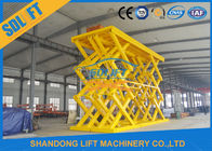 18T Heavy Duty Hydraulic Cargo Scissor Lift Heavy Truck Lifting Platform
