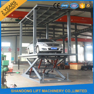 Car Lift Ramps Double Deck Car Parking System with