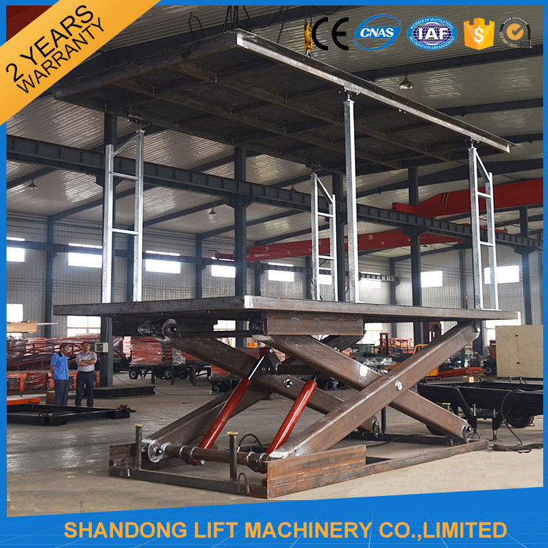 Mechanical Parking Car Storage Lifts For Stacking Park Systems Customized