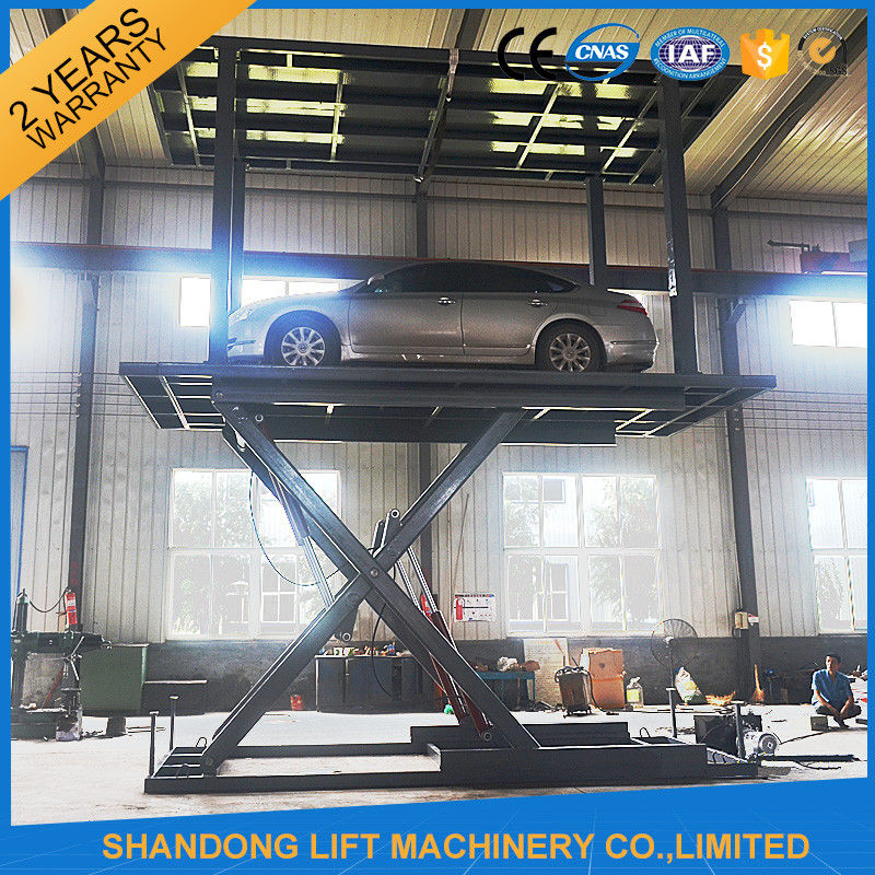 Auto Car Parking System Underground Parking Garage Lift Storage System