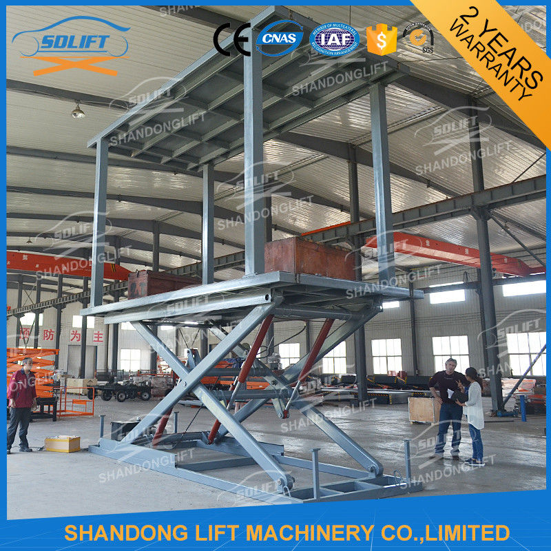 3 5t Double Car Scissor Lift Hydraulic Automated Car