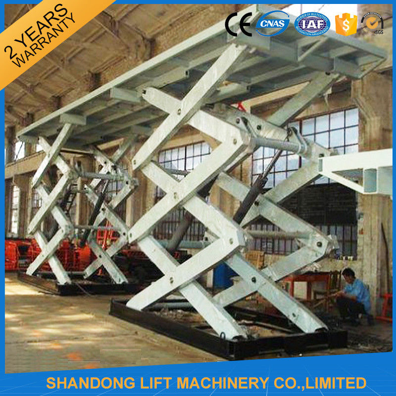 10t Heavy Duty Stationary Hydraulic Scissor Lift Table For