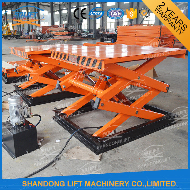 Small Hydraulic Lift System : Small stationary hydraulic scissor lift elevator electric