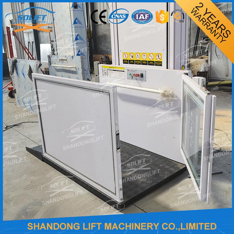 Hydraulic Vertical Wheelchair Platform Handicap Lift Equipment For ...