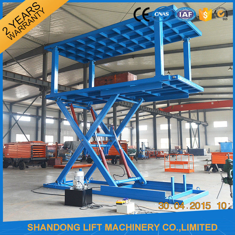 Goods And Personnel Lifting: Hydraulic Personnel Lifts Automated Double Deck Car