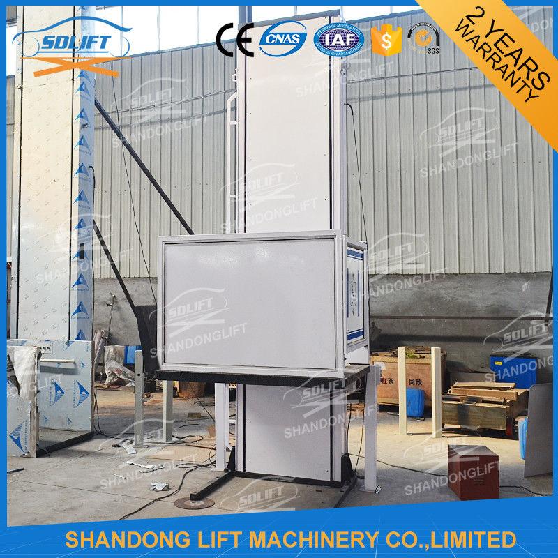 Portable Handicap Lift Equipment Electric Vertical Residential ...