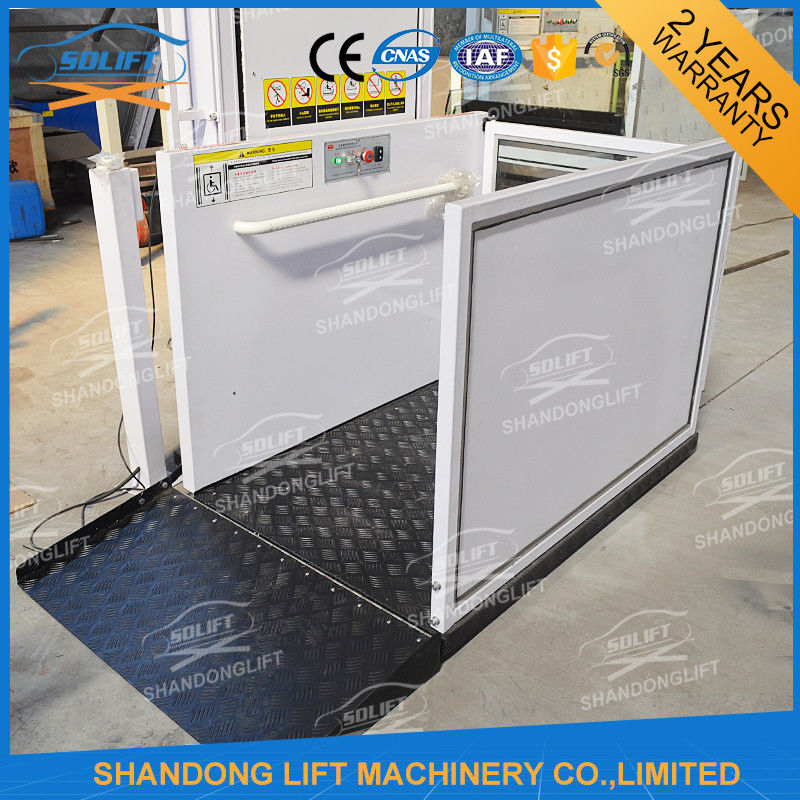 Handicap Lift Equipment Electric Vertical Residential Wheelchair ...