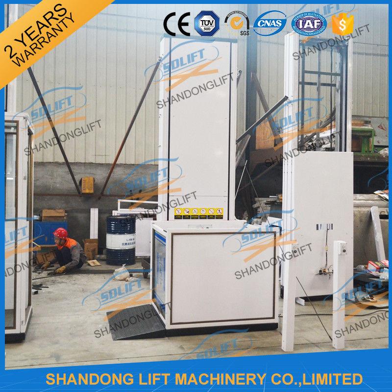250kgs 2.5m Wheelchair Platform Lift Electric Vertical Wheelchair ...