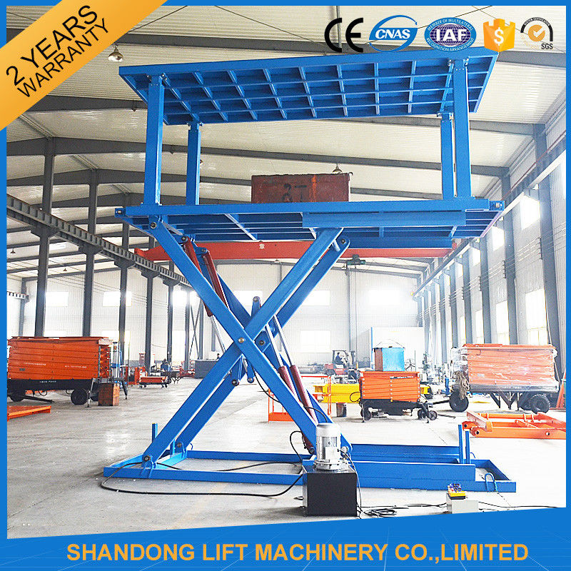 6T 3M Double Deck Car Parking System Hydraulic Mobile