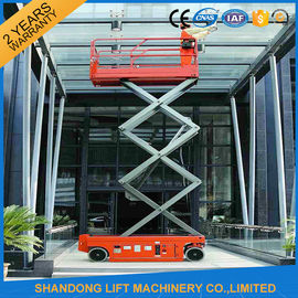 China Battery Powered Self Propelled Scissor Lift Platform for Aerial Installation / Maintenance Working distributor