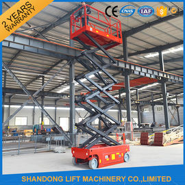 China Self Moving Light Duty Scissor Lifting Platform with Fault Diagnostic System distributor
