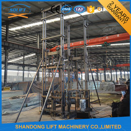 1ton Vertical Wall Mounted Warehouse Elevator Lift with 4 m Lifting Height 1 t Loading Capacity