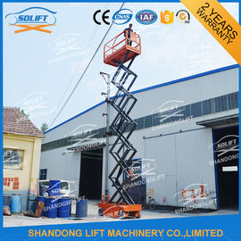 China 300kg 12m Self Propelled Mobile Elevated Work Platform For Aerial Work Platform distributor