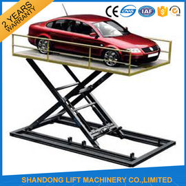 China Hydraulic Automotive Scissor Lift For Car Underground Parking Lift with CE factory