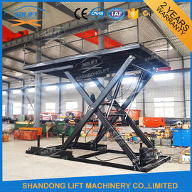 China CE TUV SGS 3.3M Hydraulic Scissor Car Lifts For Small Garages 3000kg Loading Capacity factory