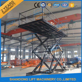 China CE 3T 4.6M Hydraulic Home Garage Car Scissor Lift , Heavy Duty Home Garage Scissor Car Lift factory