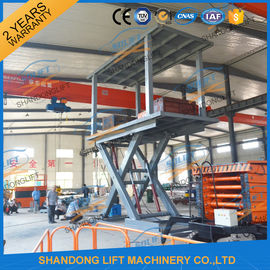 China 5T 3M Hydraulic Car Lift for Home Garage Basement 2 Car Parking Scissor Lift CE distributor