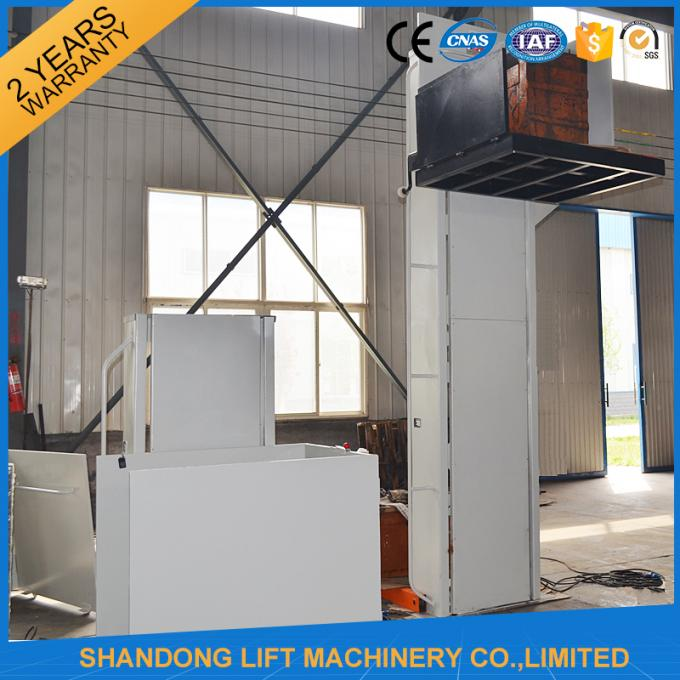 Electric Vertical Wheelchair Platform Lift With Inching