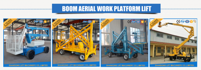 10m Diesel Engine Aerial Trailer Mounted Boom Lift Hire , Towable Articulating Boom Lift
