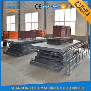 1 ton 3 3 m CE Electric Hydraulic Scissor Lift Platform for Material