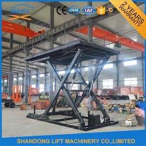3T 3M Fixed Hydraulic Table Lift Cargo Scissor Lift Customize Available