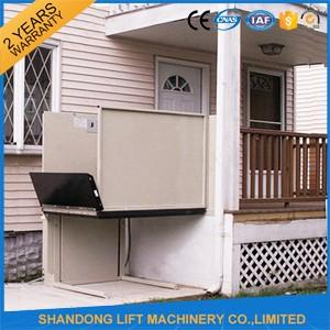 Outdoor Wheelchair Lift Electric Disabled Lift for Elder with 6m 250kgs