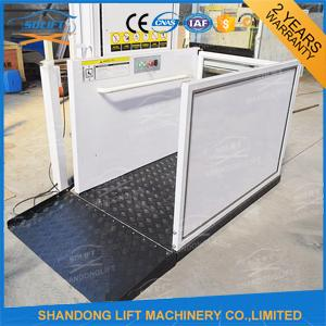 Automatic / Stationary Wheelchair Platform Lift Aluminum Alloy With Powder Coating Material