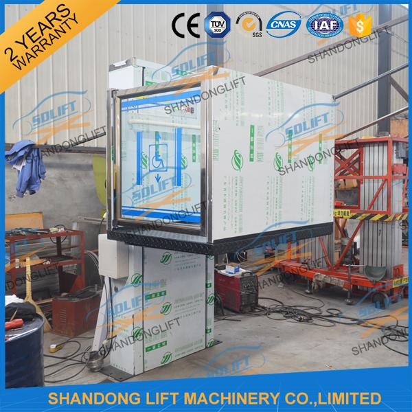 250KG 1.5M Home Wheelchair Elevator Electric - hydraulic Warehouse Wheelchair Lift
