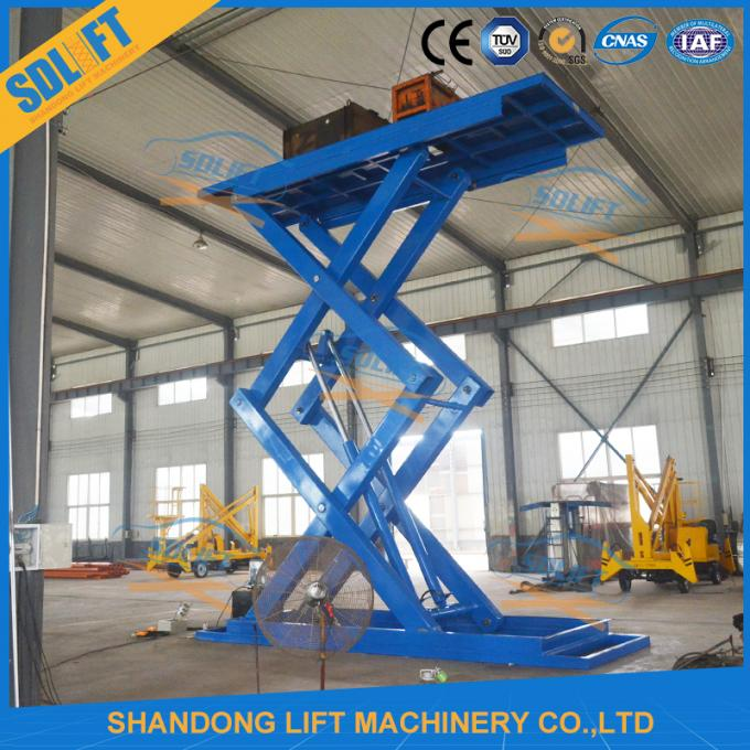 5T 5M Automotive Scissor Lift