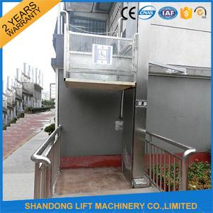 3 M Hydraulic Wheelchair Platform Lift Home Elevator Lift With CE Authentication