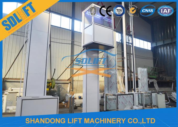 OEM Design 1-6m Handicapped Chair Lifts With Cabin , CE And SGS Certified