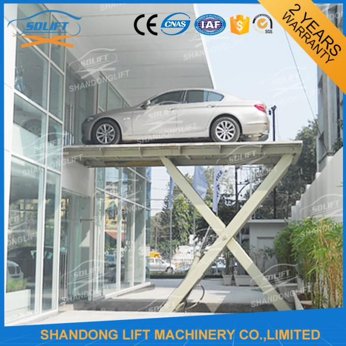 3T 8M Hydraulic Scissor Car Parking Lift Hydraulic Car Lift for Home Garage