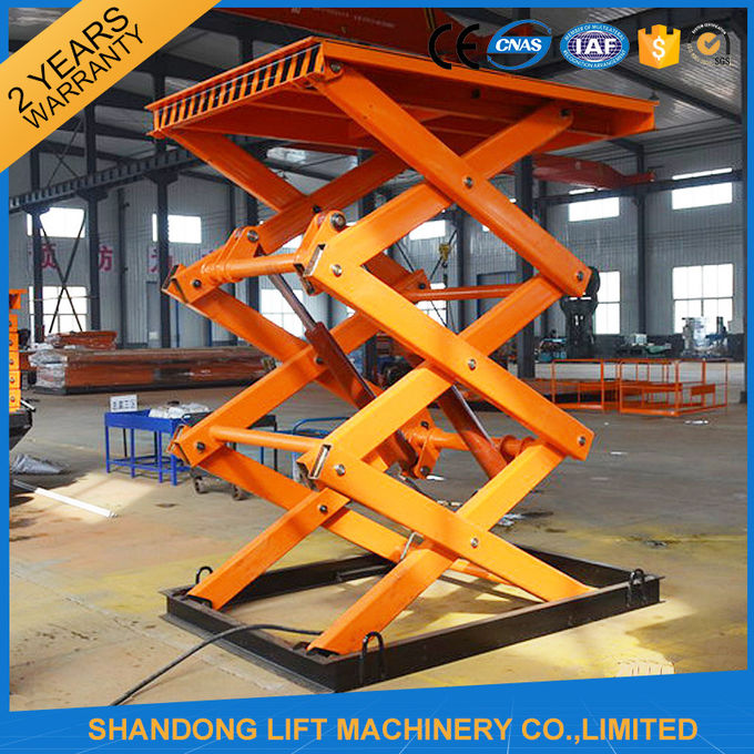 Stationary Scissor Lift Platforms Indoor Scissor Lifting