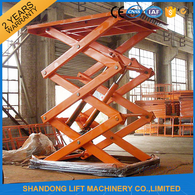 Electro Hydraulic Scissor Lift Table With Explosion Proof