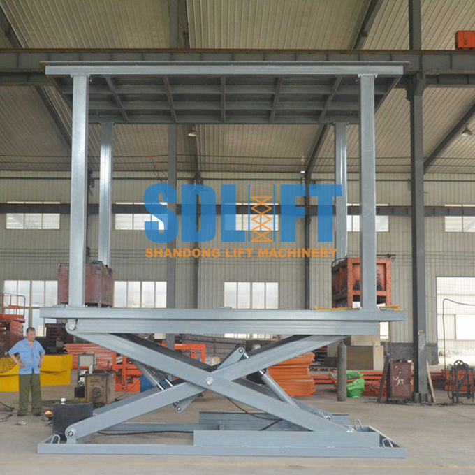 3T 3M Heavy Duty Underground Scissor Car Lift Parking System