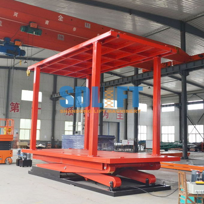 Home Hydraulic Vehicle Lift Smart Parking Underground Car Lifts For Small Garages