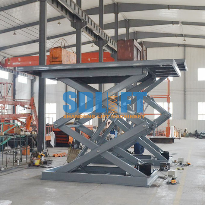 Portable Automotive Scissor Lift For Automatic Car Elevator Parking Systems