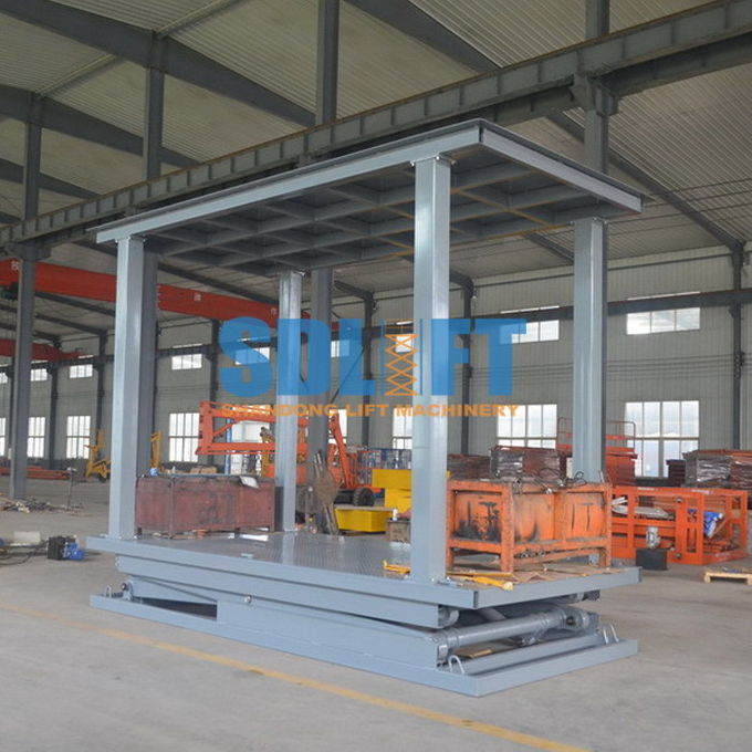 6T 3M 2 Level Hydraulic Garage Parking Car Lift Mechanical Parking System